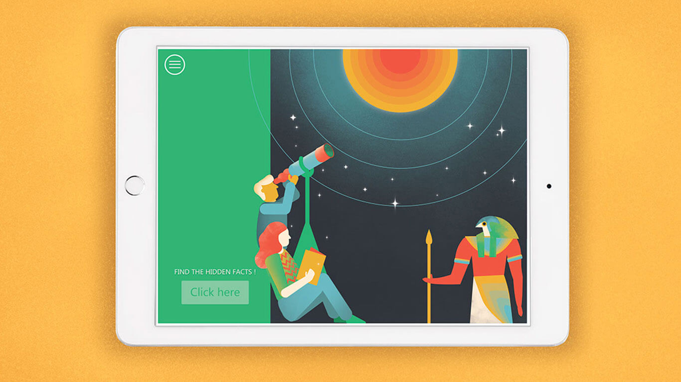 Illustration, graphic and interface design //